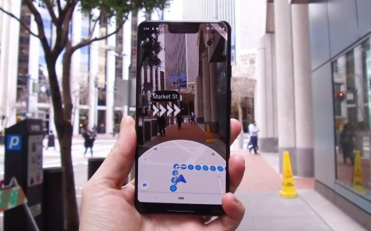 ar maps from google