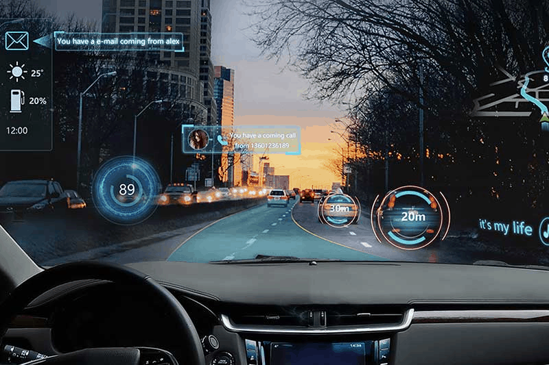 HUD Augmented Reality